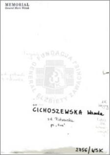 Cichoszewska Wanda