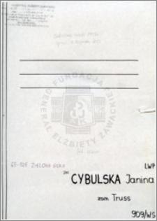 Cybulska Janina