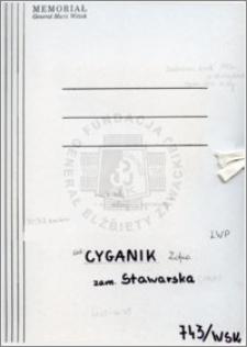 Cyganik Zofia