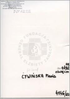 Cywińska Maria