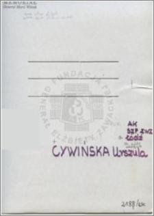 Cywińska Urszula