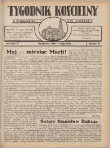 Tygodnik Kościelny Parafii św. Trójcy 1933.05.07 nr 19