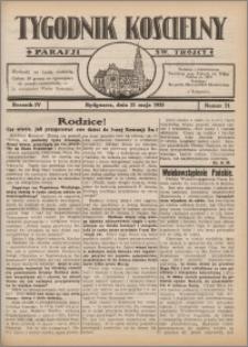 Tygodnik Kościelny Parafii św. Trójcy 1933.05.21 nr 21