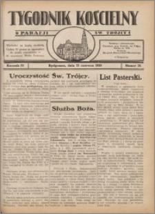 Tygodnik Kościelny Parafii św. Trójcy 1933.06.11 nr 24