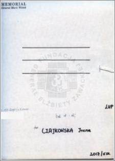 Czajkowska Irena