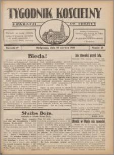 Tygodnik Kościelny Parafii św. Trójcy 1933.06.18 nr 25