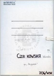 Czajkowska Wanda