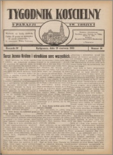 Tygodnik Kościelny Parafii św. Trójcy 1933.06.25 nr 26
