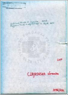 Czajkowska Weronika