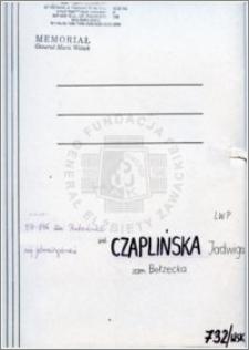 Czplińska Jadwiga