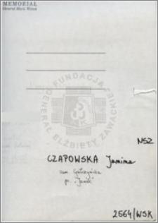 Czapowska Janina