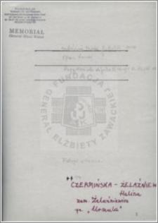 Czermińska Żelaźniewicz Halina