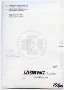 Czerniewicz Kazimiera