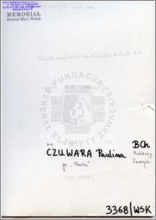 Czuwara Paulina