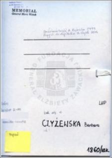 Czyżewska Barbara