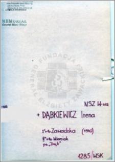 Dąbkiewicz Irena