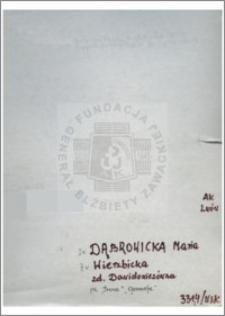 Dąbrowicka Maria