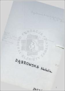 Dąbrowska Natalia