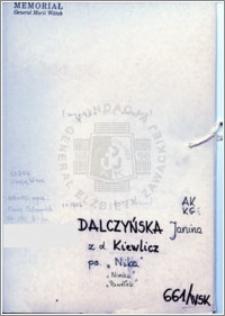 Dalczyńska Janina