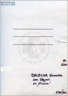 Dalecka Weronika