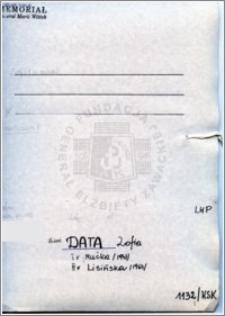 Data Zofia