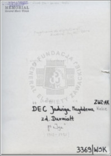 Dec Jadwiga