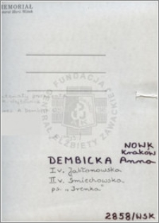 Dembicka Anna