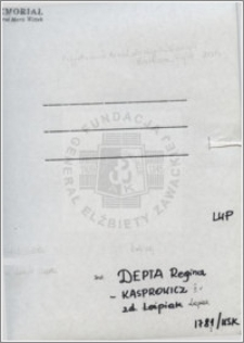 Depta Regina Kasprowicz