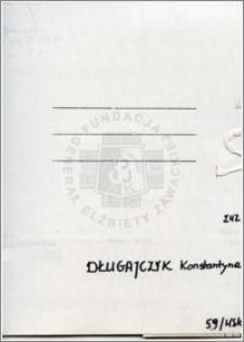 Długajczyk Konstantyna