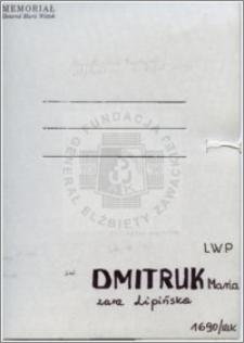Dmitruk Maria