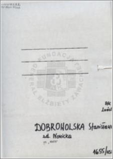 Dobrowolska Stanisława