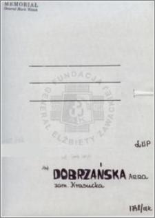 Dobrzańska Anna