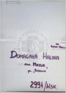 Domagala Halina