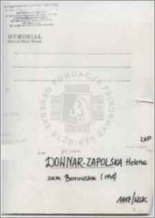 Downar-Zapolska Helena