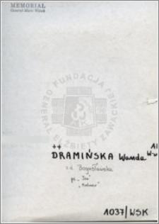 Dramińska Wanda