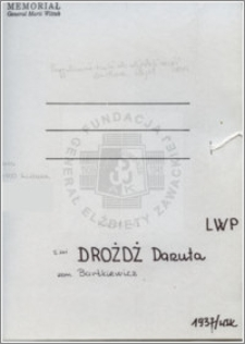 Drożdż Danuta