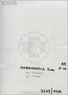 Dubanowicz Ewa