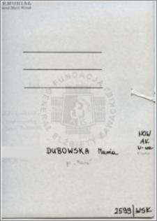 Dubowska Maria