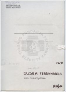Dudek Ferdynanda