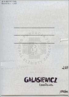 Galasiewicz Czesława