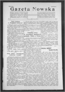 Gazeta Nowska 1928, R. 5, nr 10 + dodatek
