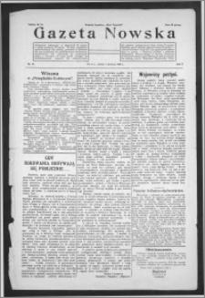 Gazeta Nowska 1928, R. 5, nr 14 + dodatek