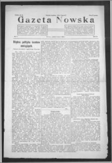 Gazeta Nowska 1929, R. 6, nr 9 + dodatek