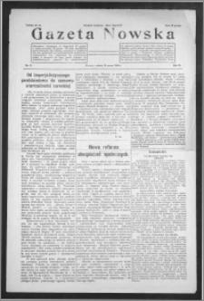 Gazeta Nowska 1929, R. 6, nr 11 + dodatek
