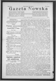 Gazeta Nowska 1929, R. 6, nr 18 + dodatek