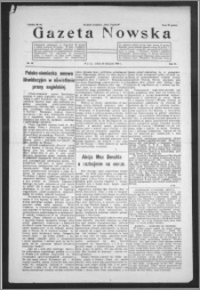 Gazeta Nowska 1929, R. 6, nr 48 + dodatek