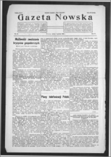 Gazeta Nowska 1929, R. 6, nr 49 + dodatek