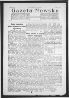 Gazeta Nowska 1930, R. 7, nr 15 + dodatek