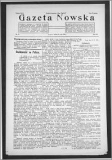 Gazeta Nowska 1930, R. 7, nr 21 + dodatek