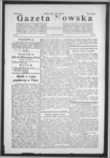 Gazeta Nowska 1930, R. 7, nr 27 + dodatek